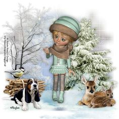 ♡Snow Time for Christmas♡ - ♡Psp Designs By Regina♡