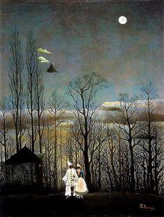 Henri Rousseau Une soirée au carnaval 1886