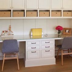 Nook with Built In Desk, Contemporary, Den/library/office, Modern Organic Interiors