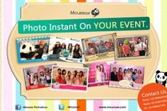 Voucher : Moussax Photo Booth only Rp 1.250.000 by. LaKupon.com