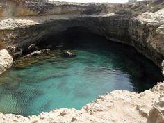 La Grotta della Poesia, a Roca Vecchia - Puglia (Italia)
