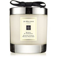 Jo Malone London Mimosa & Cardamom Scented Candle/7 oz. (€58) ❤ liked on Polyvore featuring home, home decor, candles & candleholders, apparel & accessories, honey scented candles, jo malone candle, fragrance candles, jo malone and scented candles