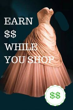 Passive income that allows you to have fun shopping while you earn money.