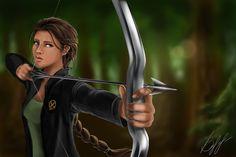 Katniss Everdeen by lerielos on DeviantArt Katniss Everdeen, Masquerade Party, Catching Fire, Mockingjay, Hunger Games, Deviantart, Brain, Novels, Women