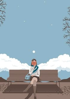 Shared by αทαťҽɾɾα☼☽☆゚. Find images and videos about art, book and illustration on We Heart It - the app to get lost in what you love. Art And Illustration, American Illustration, Book Illustrations, Art Magique, Magazin Design, Reading Art, Girl Reading, Cartoon Wallpaper, Wallpaper Art