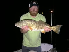 Strong Angler Challenge - [U.S. Open] - Redfish at night #redfish