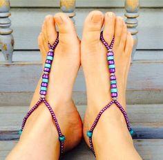 Sandalias pies descalzos de AmericanChics en Etsy https://www.etsy.com/mx/listing/462344341/sandalias-pies-descalzos