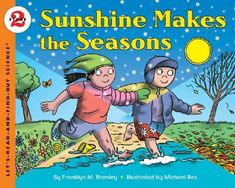 One of the science activities we will be doing this year will be observing nature this year and documenting the seasonal changes we see on our Seasons' Circle Chart. We will also be reading many books about the seasons. Below are a handful of science books about the changing seasons for kids.