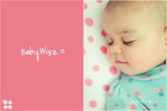 flexible babywise routine, not a rigid schedule
