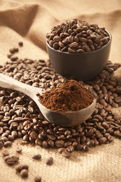 Beans - I love grinding coffee, just for the sake of the amazing aroma