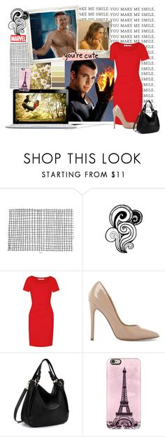 """Jessica Lukas"" by capfan2014 on Polyvore featuring GALA, Diane Von Furstenberg, Steve Madden, Casetify, Marvel, marvel, fantasticfour, humantorch and FlameOn"