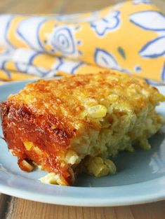 Corn casserole        Can be made gluten free by substituting gluten free flour and if dairy free sub non dairy milk!! Yummmmmmm