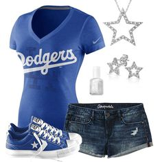 Los Angeles Dodgers Summer All Star Outfit