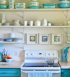 This makeover might inspire you to take a colorful plunge in your own kitchen.