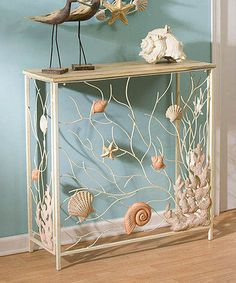 Another great find on #zulily! Shells Hall Table #zulilyfinds