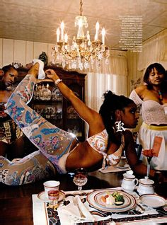 "infects: """" ""Steppin' Out"" photographed by Martha Camarillo, Vibe Magazine March 2004 "" "" I'm so sad right now bcus I truly miss these editorials from mags like Vibe and Honey like they were so iconic. Black Girl Art, Black Girl Magic, Black Girls, Black Women, Black Girl Fashion, Black Art, Ladies Fashion, Afro, Black Photography"