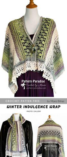 6a21902a10bfb Winter Indulgence Crochet Wrap FREE