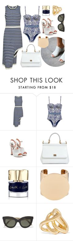 """Take Me Away"" by cherieaustin on Polyvore featuring Opening Ceremony, Tory Burch, Rochas, Dolce&Gabbana, Smith & Cult, Givenchy, Victoria Beckham and Jennifer Fisher"