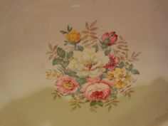 1940's China Meat Platter/Antique China by BlairsHouseofVintage
