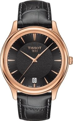 @tissot  Watch Fascination #add-content #basel-16 #bezel-fixed #bracelet-strap-leather #brand-tissot #case-depth-7-5mm #case-material-rose-gold #case-width-40mm #date-yes #delivery-timescale-1-2-weeks #dial-colour-black #gender-mens #luxury #movement-quartz-battery #new-product-yes #official-stockist-for-tissot-watches #packaging-tissot-watch-packaging #style-dress #subcat-t-gold #supplier-model-no-t9244107606100 #warranty-tissot-official-2-year-guarantee #water-resistant-30m
