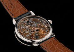 Voutilainen - Horlogerie d'Art chronograph monopoussoir