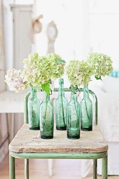 Vintage French Bottles