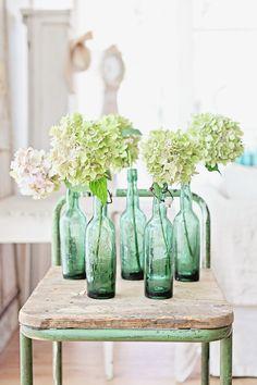 H A B I T A N 2 Decoración handmade para hogar y eventos www.habitan2.com flores enbotellas
