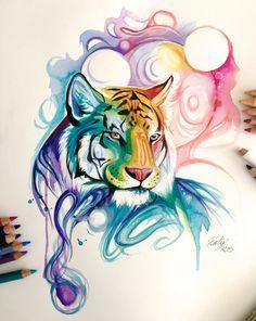 135- Spirit Tiger by Lucky978.deviantart.com on @DeviantArt