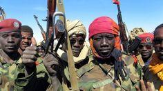 Het leger van Gaddafi (dictator uit Libië) die tegen de rebellen moest vechten. In dit leger zitten ook kindsoldaten.