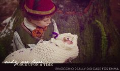 Why we love OUAT...Pinocchio really did care for Emma. HE WAS SOOOO ADORABLE!!!!!