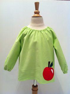 Apple Dress - stylish to the core! by sastirosielife on Etsy Apple Dress, Stylish Dresses, Applique, Core, Crisp, Sweatshirts, Sweaters, Stuff To Buy, Shopping