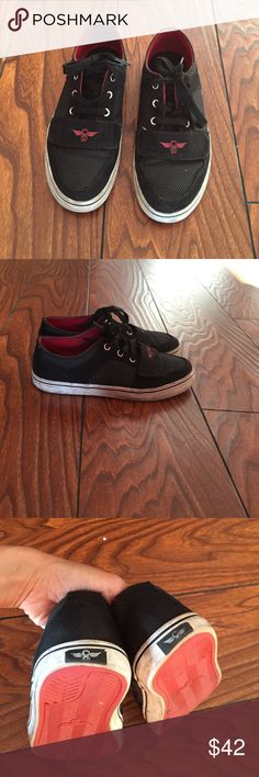 Creative Recreation boys shoes Red and black Creative Recreation boys shoes. In good used condition  outgrown by the kiddo Creative Recreation Shoes Sneakers