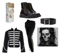 """Black Parade My Chemical Romance"" by musicumlupus on Polyvore featuring Dolce&Gabbana and Forever 21"