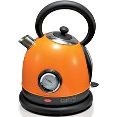 #DESIGN #WASSERKOCHER / #Retro #Wasserkessel (1,8 Liter, 2200 Watt, #Orange)