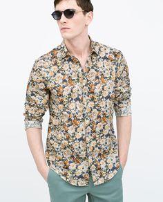 ZARA - MAN - Printed shirt