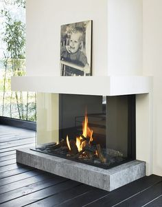 Low rofile Fireplaces Trends - Tulp Gas Fireplace B-Fire 100 (Photo Tulp ...