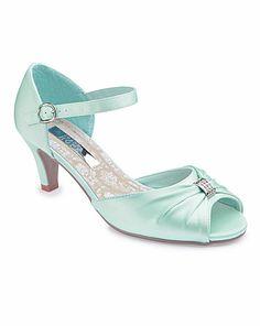JOANNA HOPE Peep Toe Shoes E Fit | J D Williams