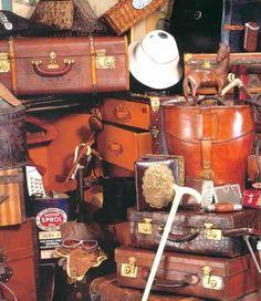 vintage_luggage,2012 christies auction - Louis Vuitton