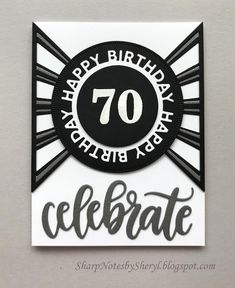 We'll have to celebrate this special milestone birthday someday in the future when the pandemic eases up. 50th Birthday, Birthday Cards, Happy Birthday, Mom In Heaven, Elizabeth Craft Designs, Mft Stamps, Milestone Birthdays, Masculine Cards, Clear Stamps