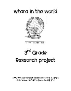 For Reading this quarter we will be doing another big research project that integrates Reading, Writing, and Social Studies in a fun way. Each student will choose a country to study and research for the next three weeks. They will be responsible for understanding the geography of the land, the climate, the countries main attractions, and some fun facts that make it a unique place to visit.