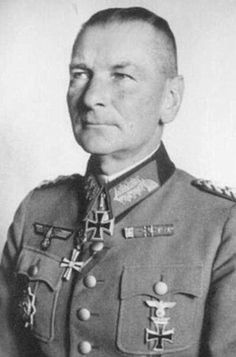 ✠ Philipp Kleffel (December 9th, 1887 - October 10th, 1964) RK 17.02.1942 Generalleutnant Kdr 1. Inf.Div