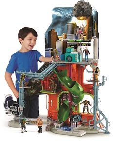 City Sewer Lair Playset Teenage Mutant Ninja Turtles Out of the Shadows Video Review