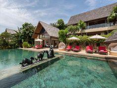 Koh Samui Thailand, Luxury Villa Rentals, Luxury Accommodation, Guest Bedrooms, Luxurious Bedrooms, 5 Star Hotels, Swimming, Outdoor Decor, Villas