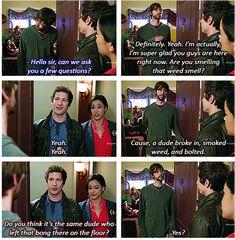 Bong ~ Brooklyn Nine-Nine Quotes ~ Season 1, Episode 1: Pilot #amusementphile