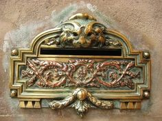 Mail slot. (for small mail???)