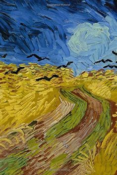 BLANK / UNRULED NOTEBOOK Wheatfield with crows, Vincent van Gogh: Blank Journal / notebook / composition book, 140 pages, 6 x 9 inch (15.24 x 22.86 cm) Laminated by Studio Beeker http://www.amazon.com/dp/1519518064/ref=cm_sw_r_pi_dp_-hBFwb0HG0878