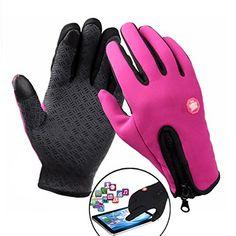 Sports de Plein Air Gants Tactiles Hommes Femmes Cyclisme Moto Gants de Ski Wind-stopper Écran Tactile Gants S-XL beaucoup plus long et…
