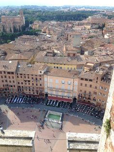 Climbed to the top of the Tower of Mangia. Watching over Piazza del Campo Siena, Italy CET/Summer Italian Studies 2015 @cetacademicprograms