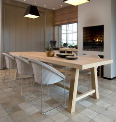 Joe chairs and Herbert table by Vincent Sheppard. Liquid Design 01604 721993