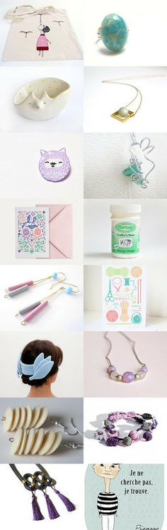 Pastel spring by Neringa on Etsy--Pinned with TreasuryPin.com